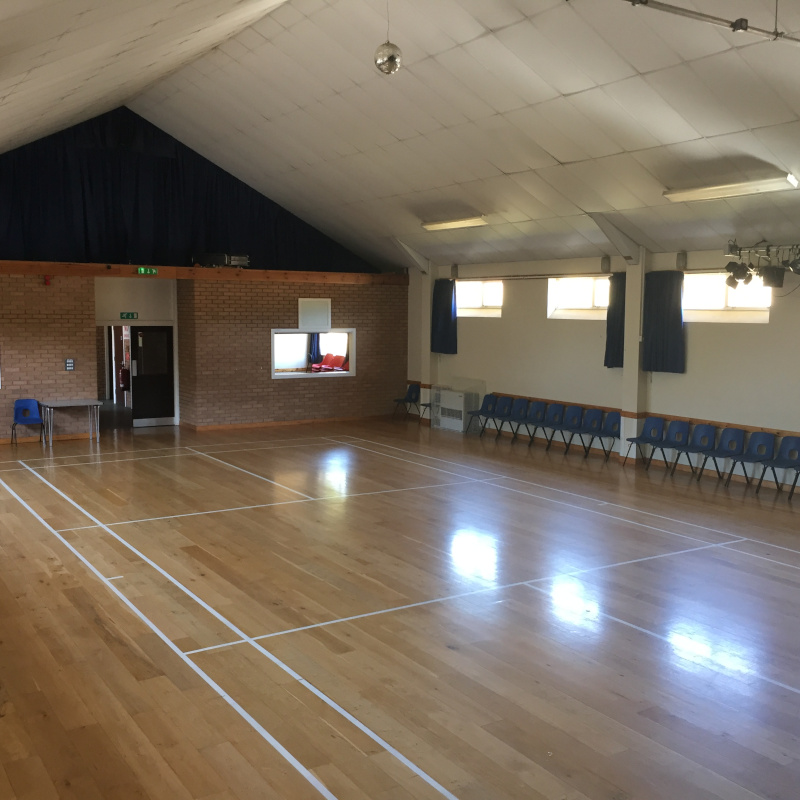 Clyst St Mary Village Hall - View from Stage