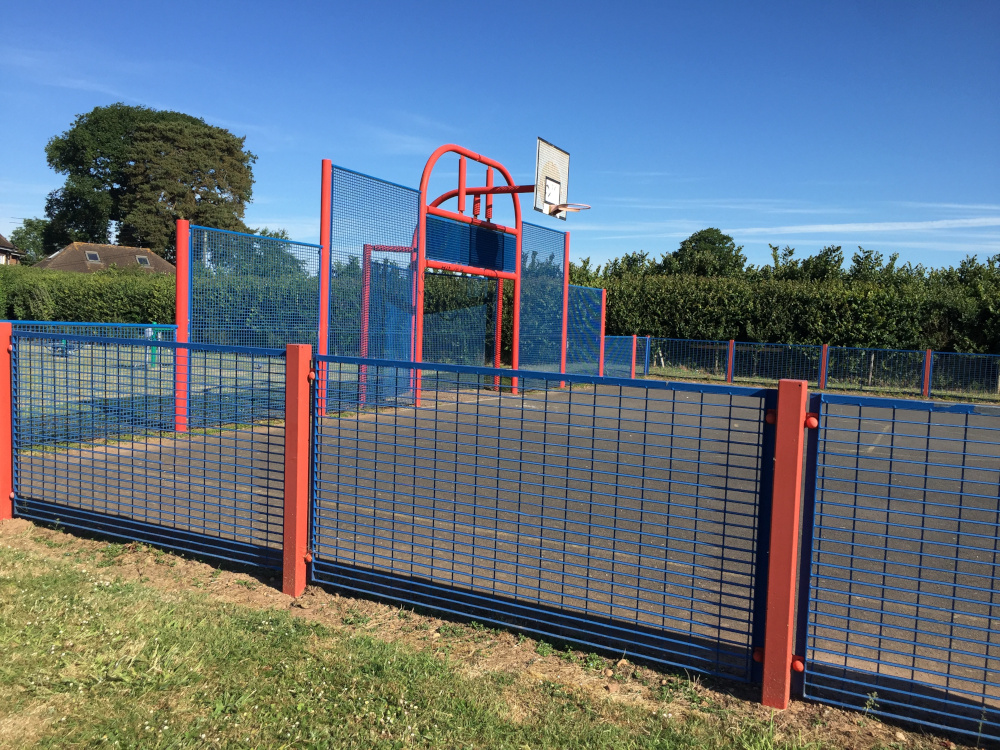 All-weather multi-sports play area