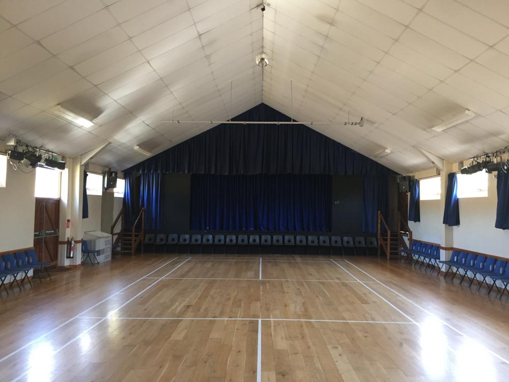 Clyst St Mary Village Hall - Stage Area